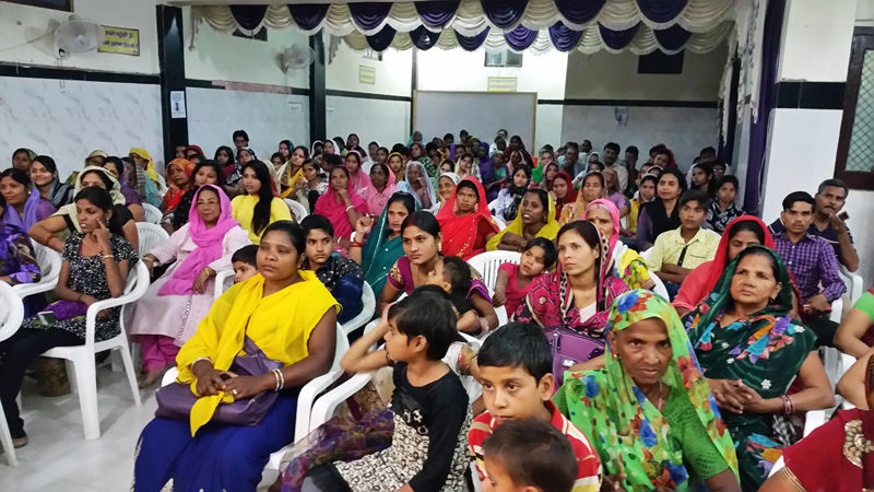 Women learn about their value, how God loves them and how to be disciple-makers at the All In Conference in Kanpur