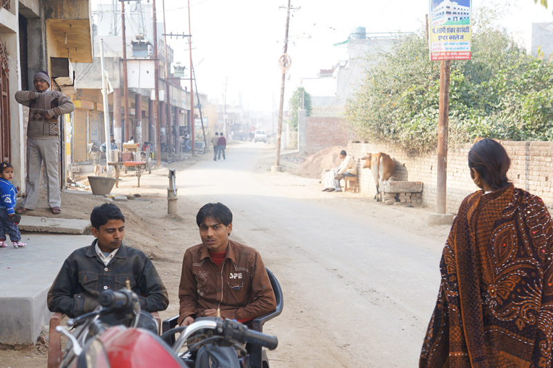 Street view in Kanpur India
