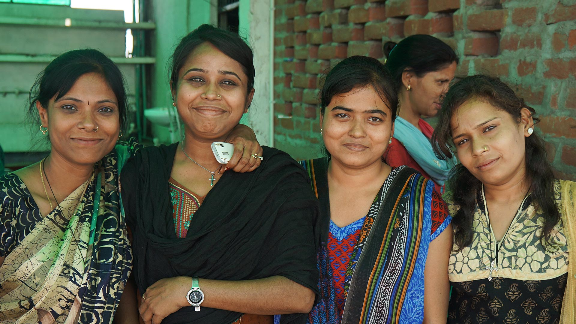 Young women at the All In India Conference