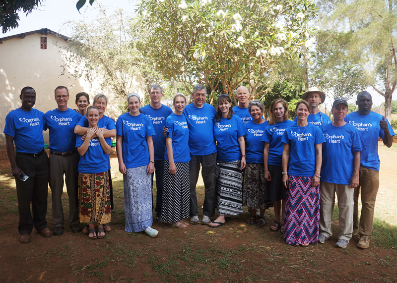 The All In Team and One More Child team in Uganda on the partner mission.