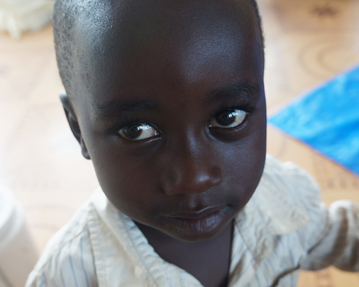A child on our Partner Mission with All In Ministries and One More Child.
