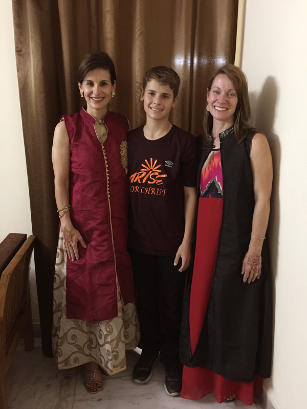 All In Conference in India we adjust to the cultures we visit.