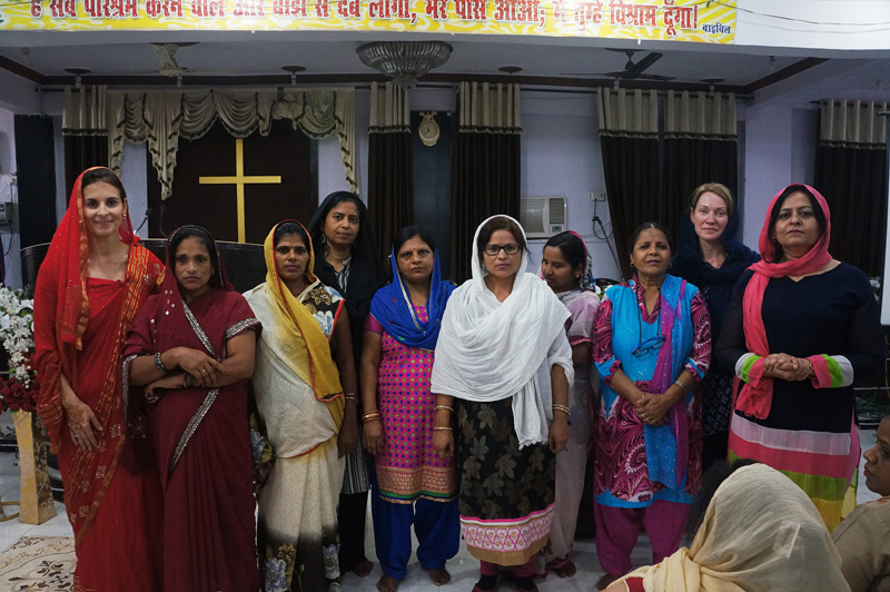 Women in India at the All In Ministries Womens Disciple-Making Conference