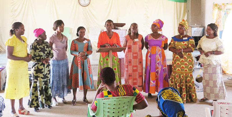 Women Leaders from the All In Liberia Womens Conference