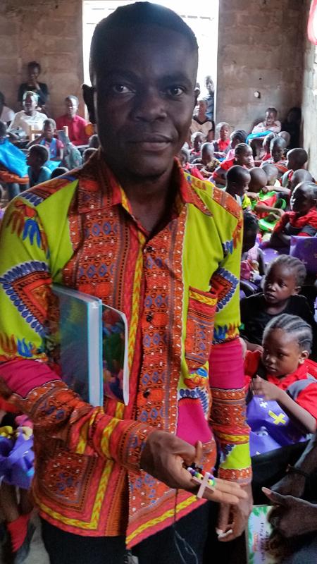 Liberian school's Vice Principal