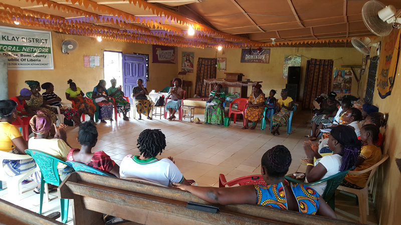 Klay District AIM conference, where 30-35 women gather for disciple-making training led by AIM's first in-country champion