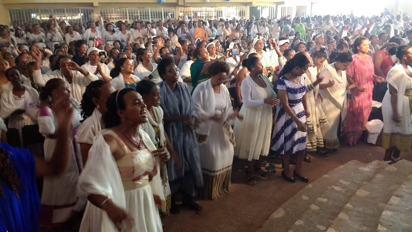 Ethiopia Women Worship and crazy God math happens