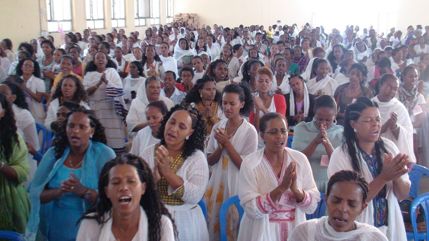 Ethiopia Women Worship at All in Conference Crazy God Math is produced.