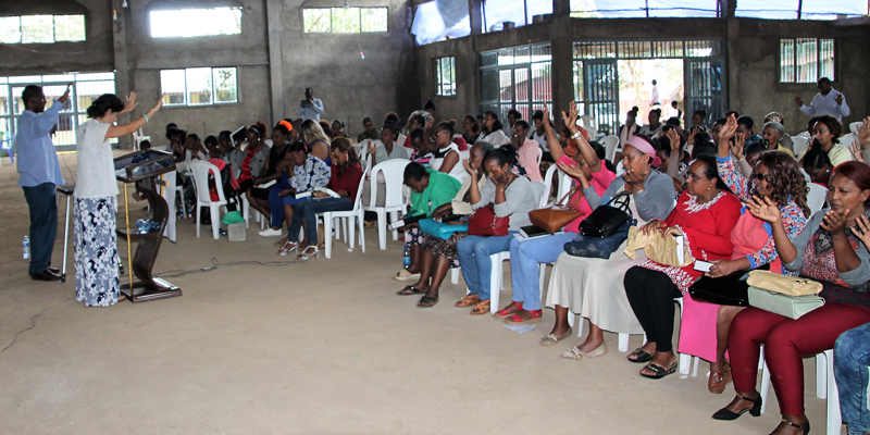 Ethiopia Womens Conference with All In Ministries women worship