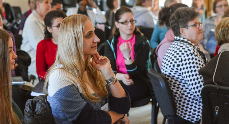 God knows what you need as women gather at the Romanian All In Disciple-Making Conference.