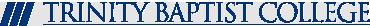 trinitybaptistcollege logo