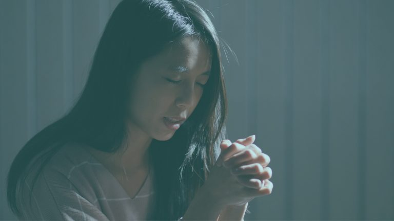 How to Abide in Christ Girl Prays