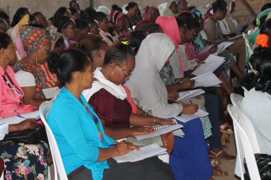 Gods Timing is Perfect as Ethiopian Women learn to be Disciple-Makers at the All In Ethiopian Conference.